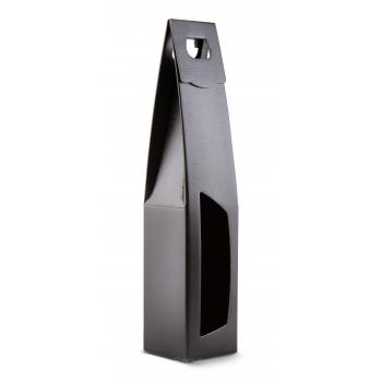 Pudełko prezentowe z uchwytem czarne