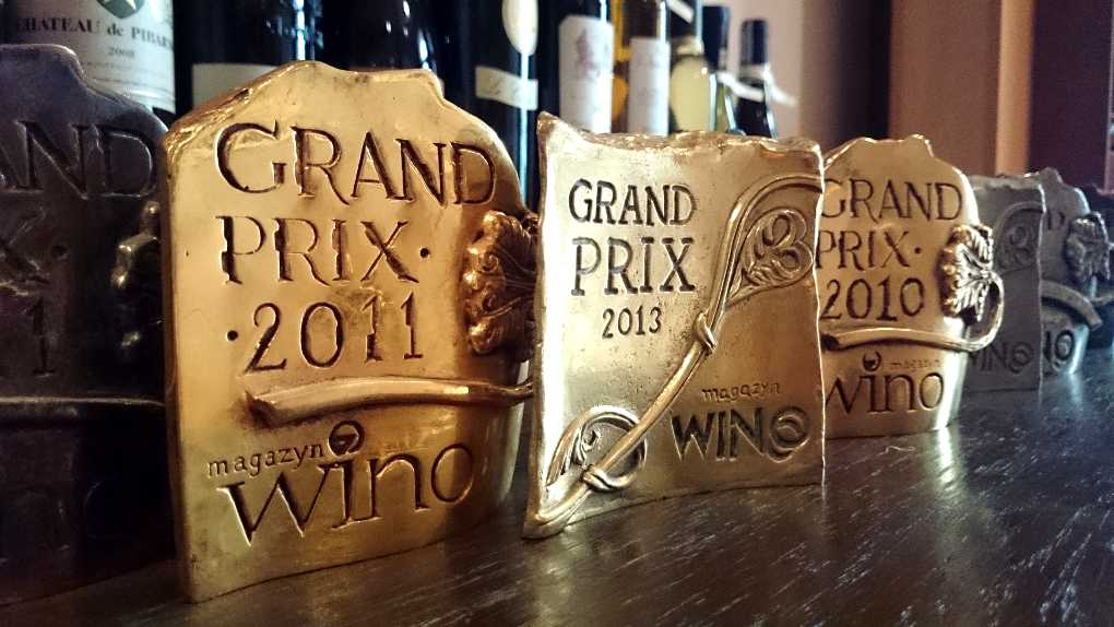 medale grand prix magazyn wino