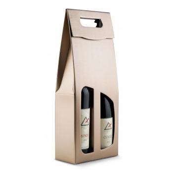Pudełko na wino podwójne z...