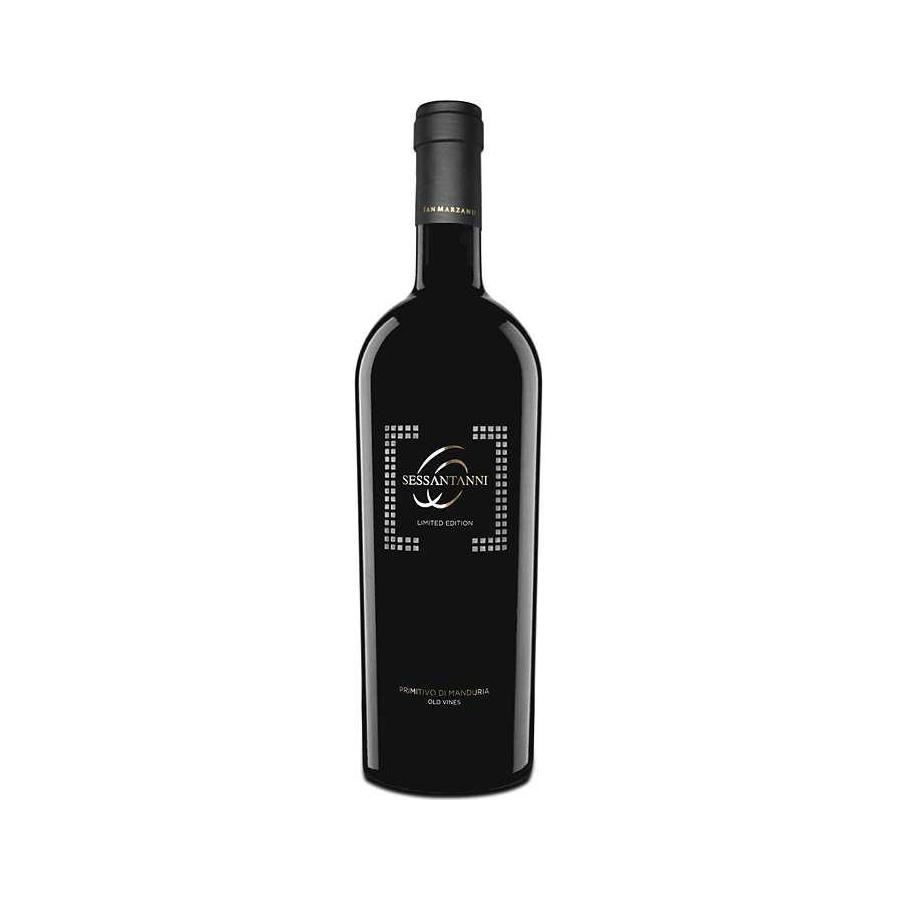 Cantine San Marzano Sessantanni Limited Edition Primitivo Di Manduria DOP