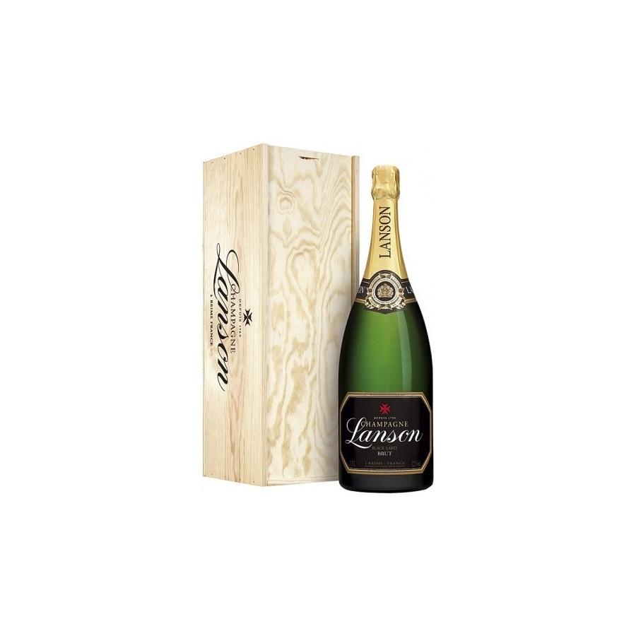 Champagne Lanson Black Label Brut NV 1,5 L Magnum (drewniana skrzynka)