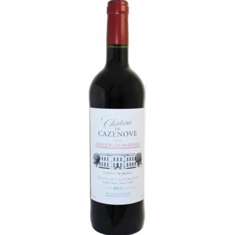 Chateau Cazenove Bordeaux Superieur AOC 2015