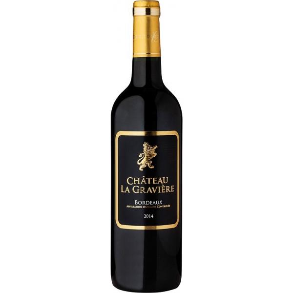 Château la Graviere Rouge Bordeaux AOC 2016