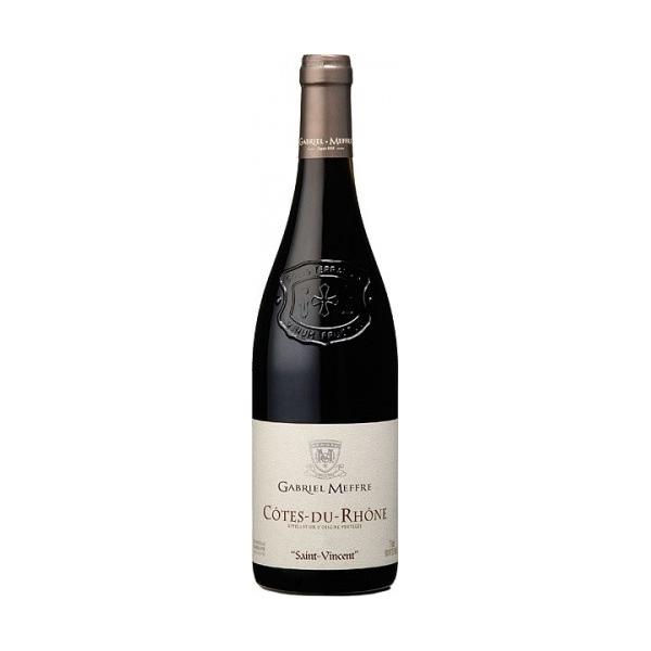 Gabriel Meffre Saint Vincent Rouge Cotes-du Rhone AOC