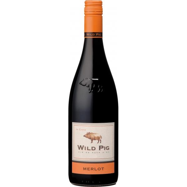 Wild Pig Merlot Pays d`Oc IGP