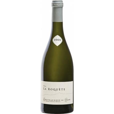 Domaine La Roquete Clos la Roquete Blanc Châteauneuf-du-Pape AOC 2018