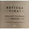 Bottega Vinai Muller Thurgau Trentino DOC - Zdjęcie 3