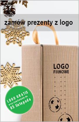 prezenty z logo